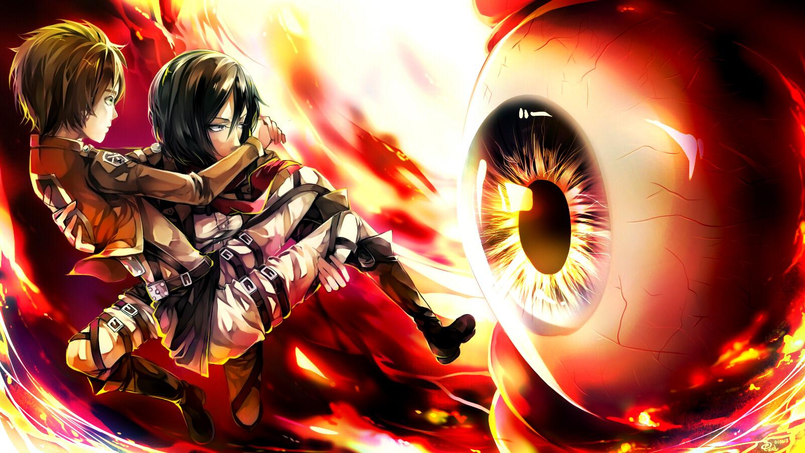 Attack On Titan Wallpaper 1511809 Zerochan Anime Image Board