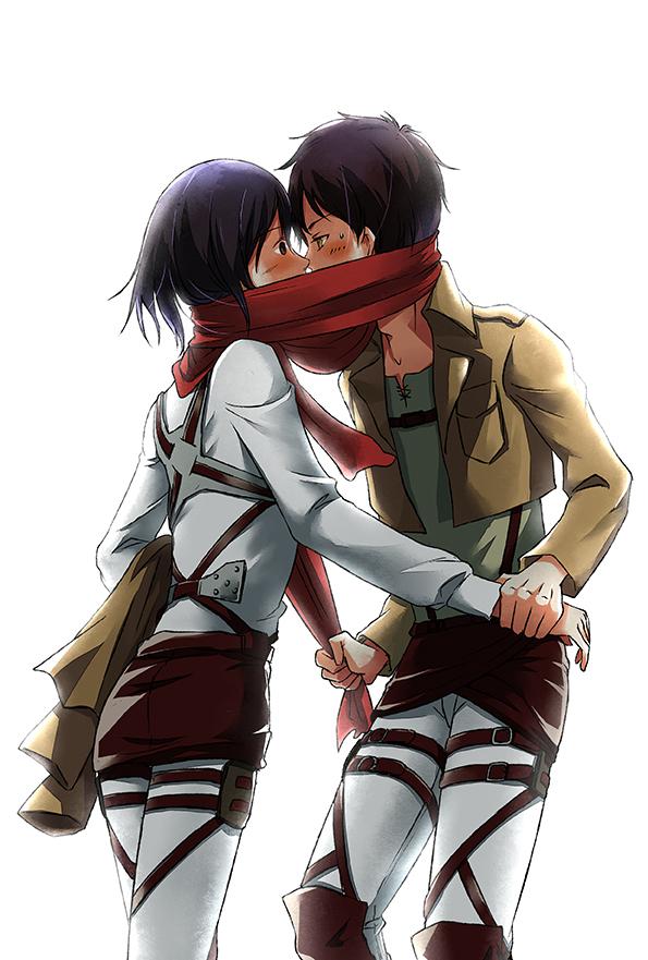 Anime Attack On Titan Eren And Mikasa Anime Wallpapers