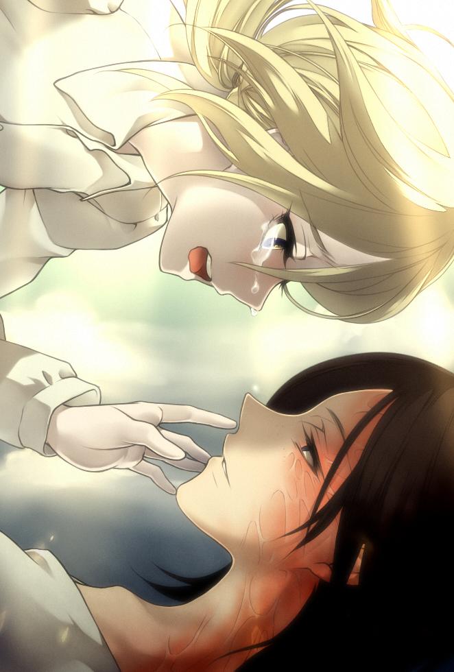 Аниме девушка даёт свою руку