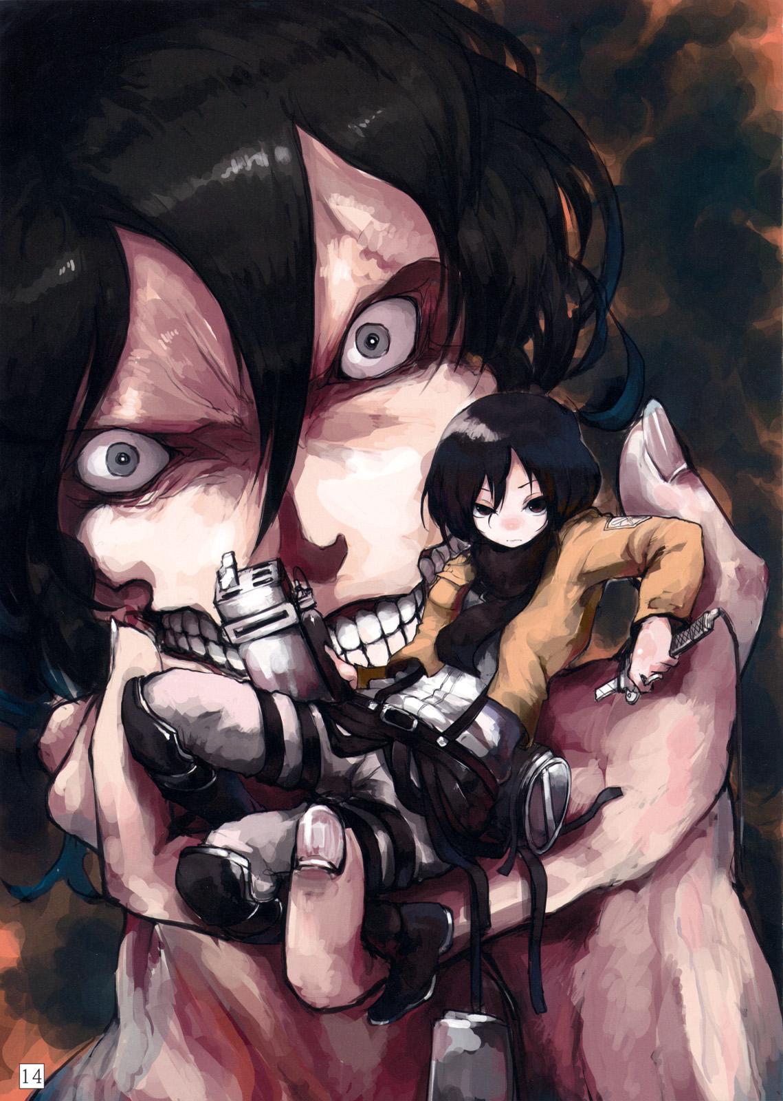 Attack on Titan Mobile Wallpaper #1526113 - Zerochan Anime Image Board