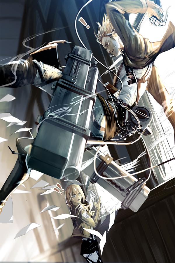 Nanaba Shingeki No Kyojin Mobile Wallpaper Zerochan Anime Image Board