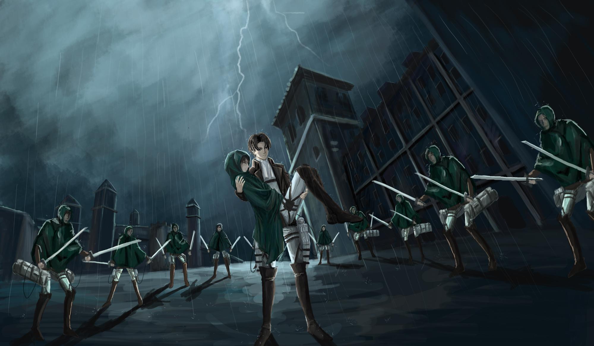 Attack On Titan Wallpaper Zerochan Anime Image Board