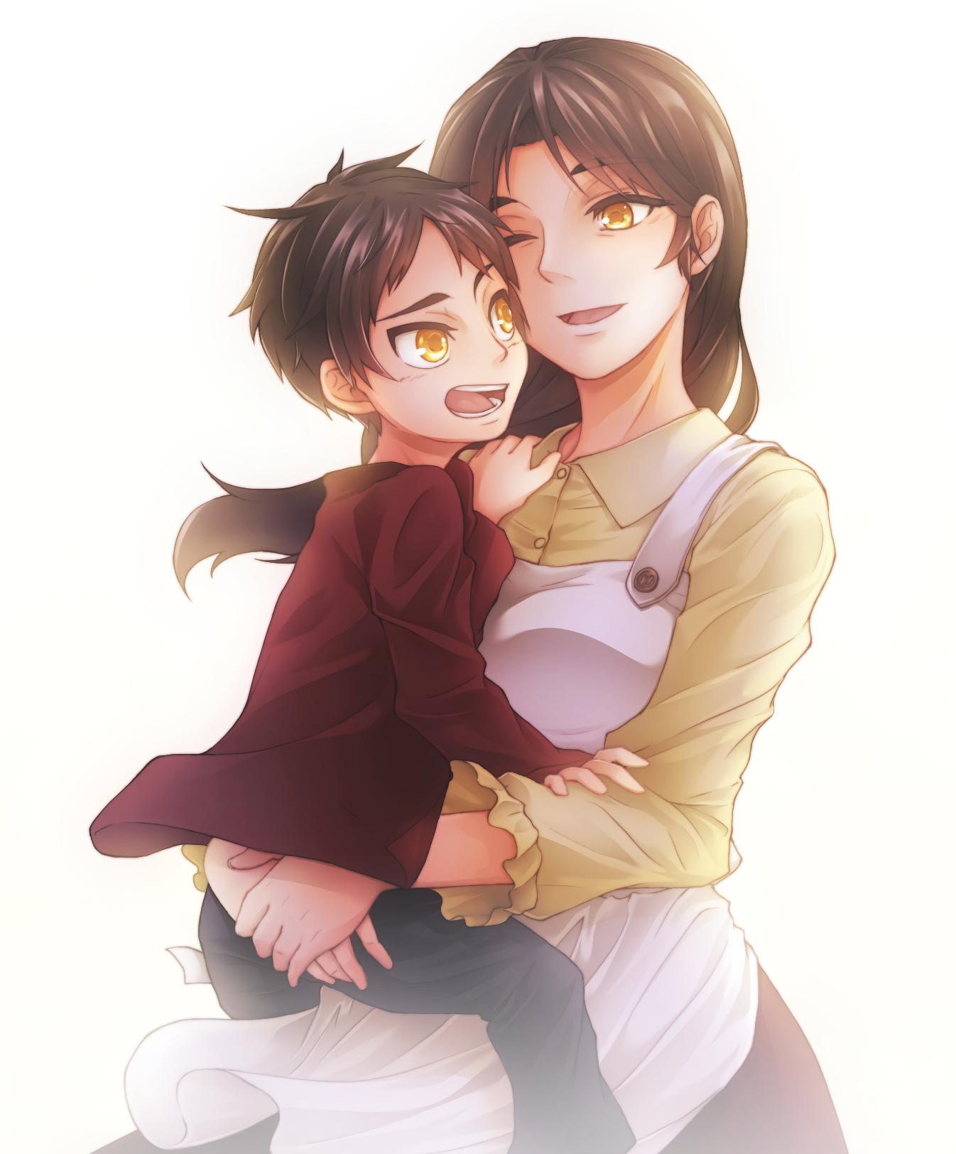 Мама аниме картинки