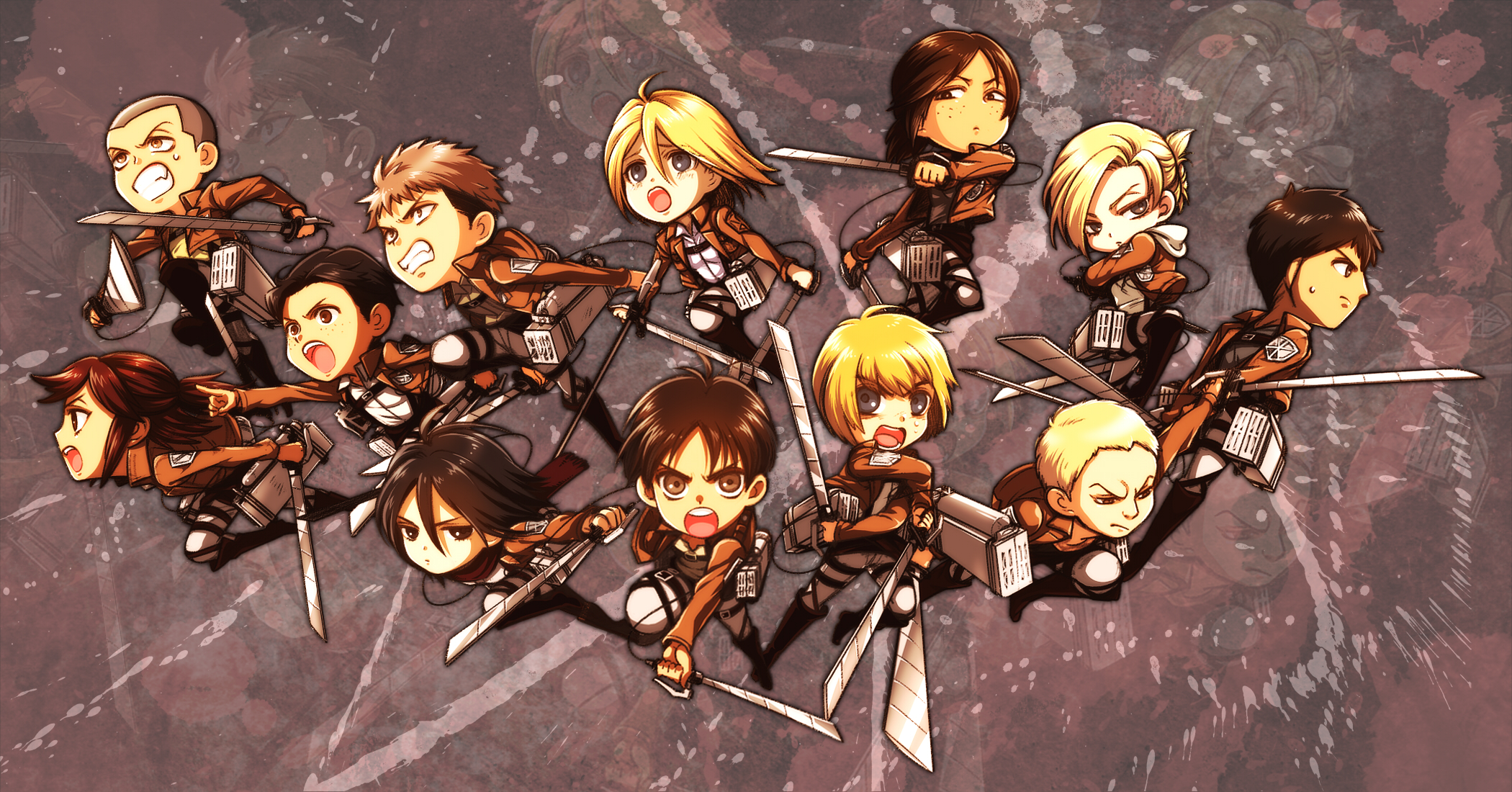 Annie leonhardt wallpaper zerochan anime image board attack on titan download attack on titan image voltagebd Image collections