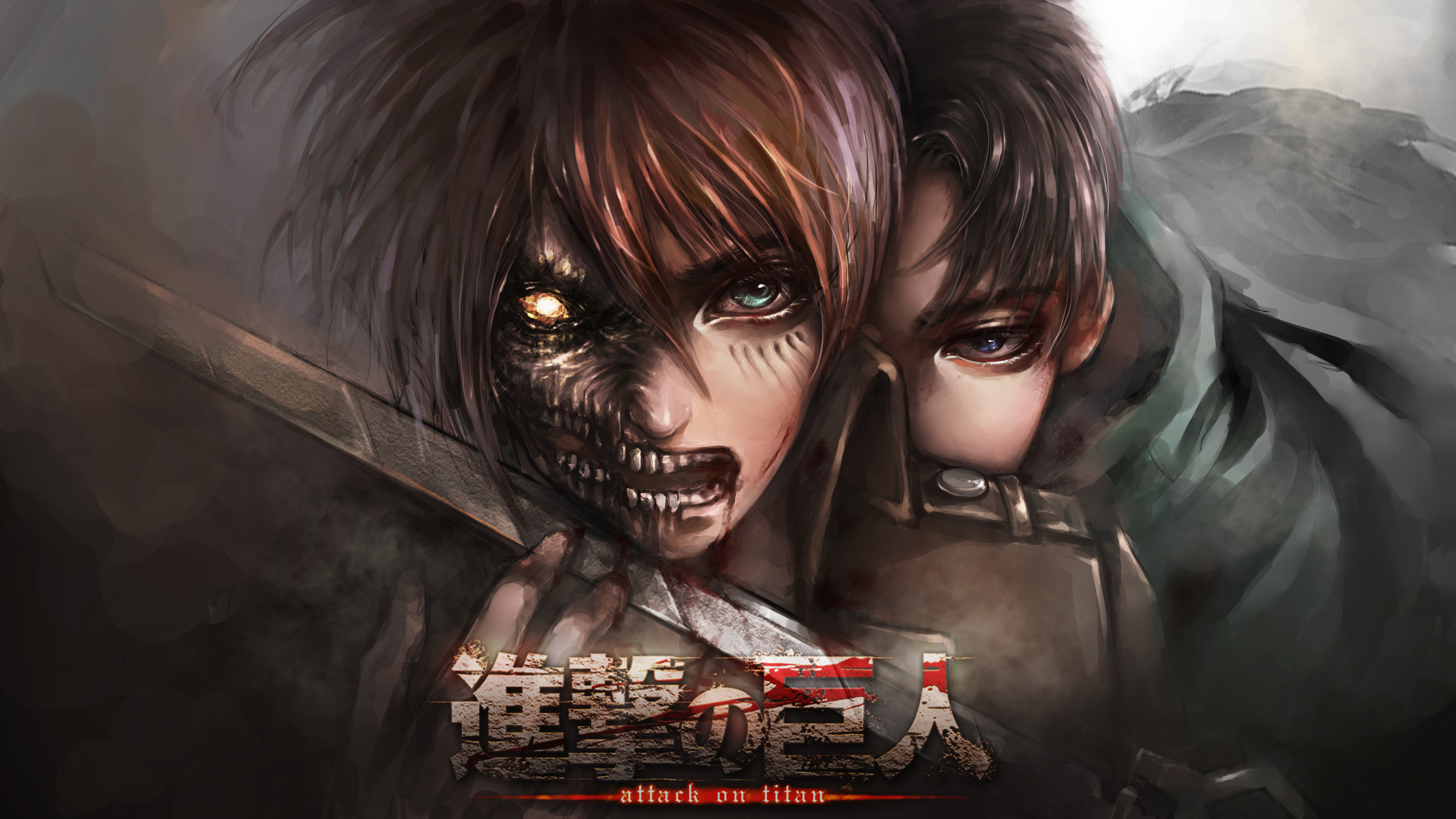 FilterAttack On Titan HD Wallpaper