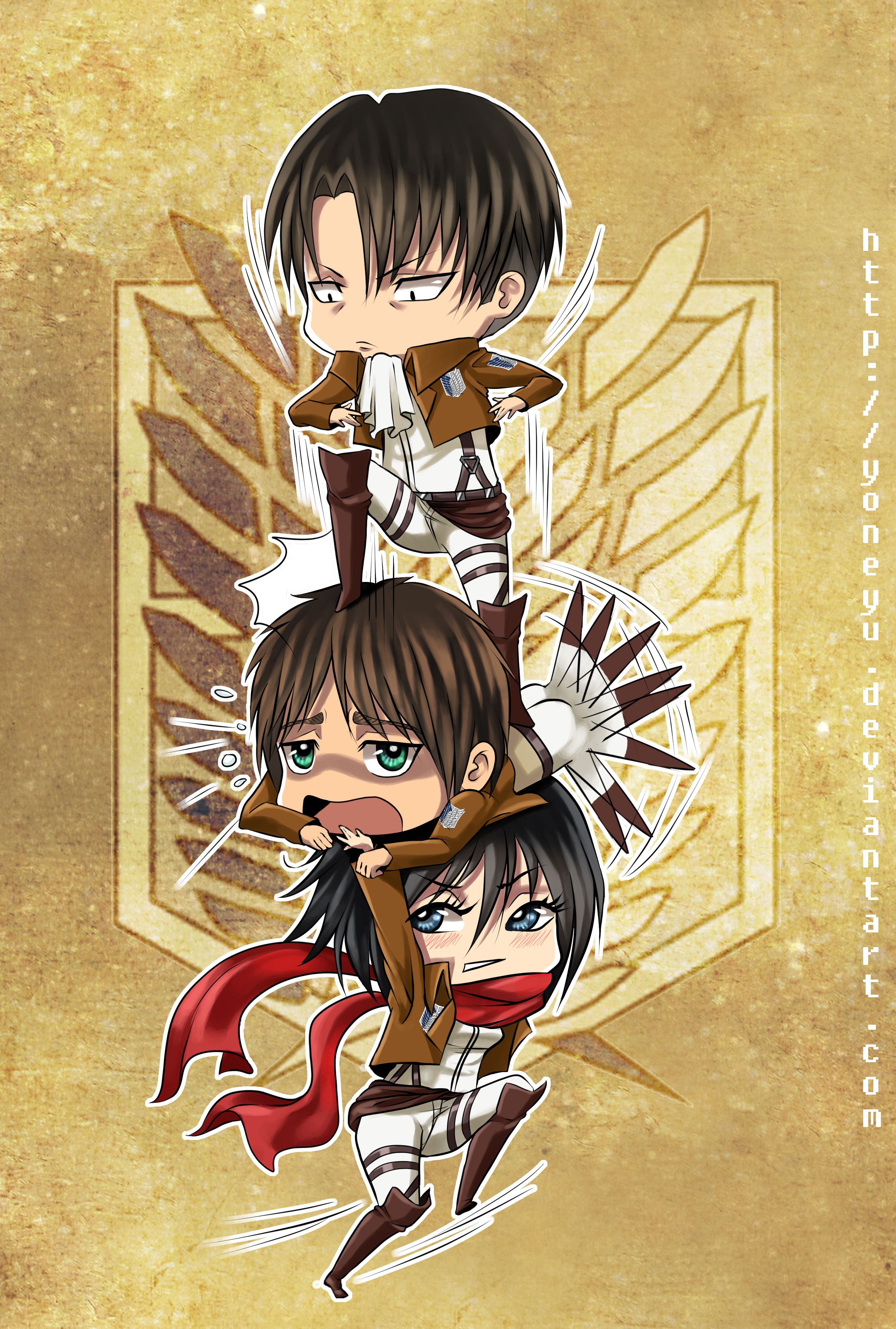 Attack On Titan Mobile Wallpaper 1572266 Zerochan Anime Image Board
