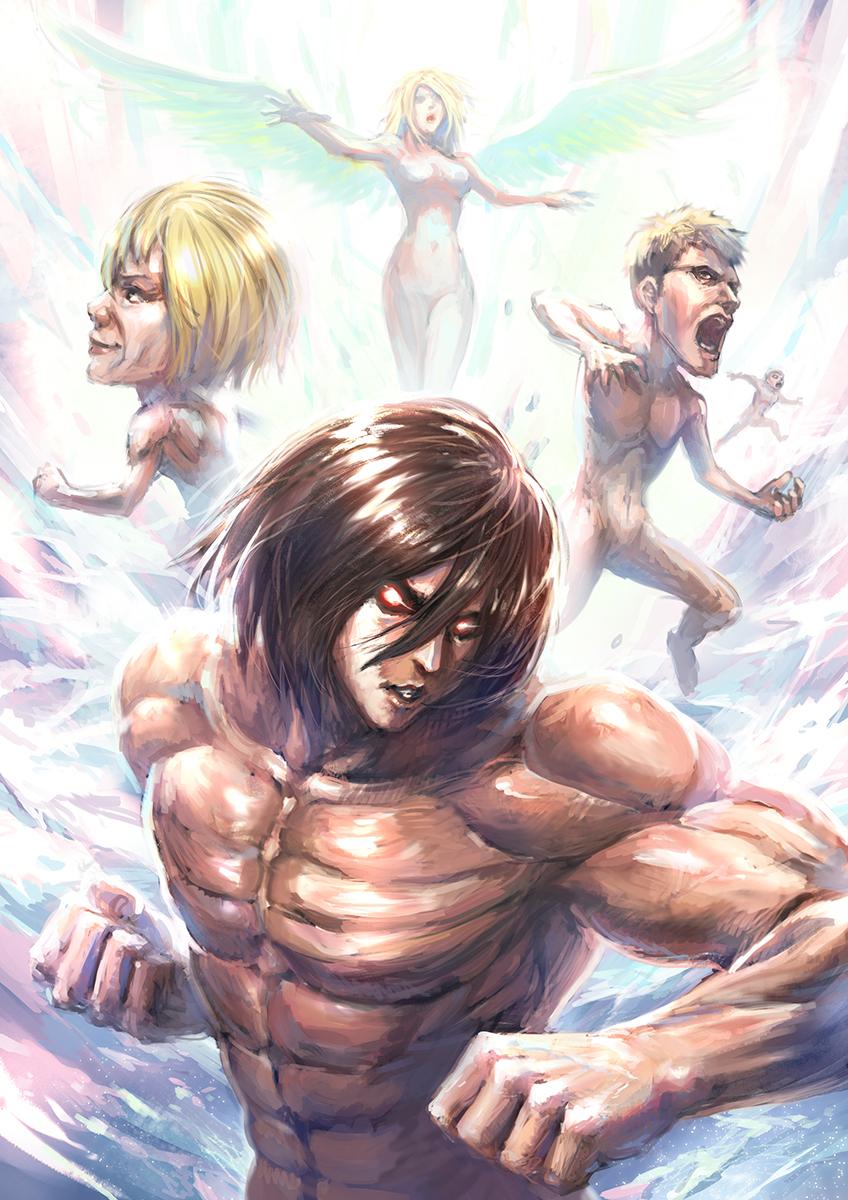 винкс картинки атака титанов было первое