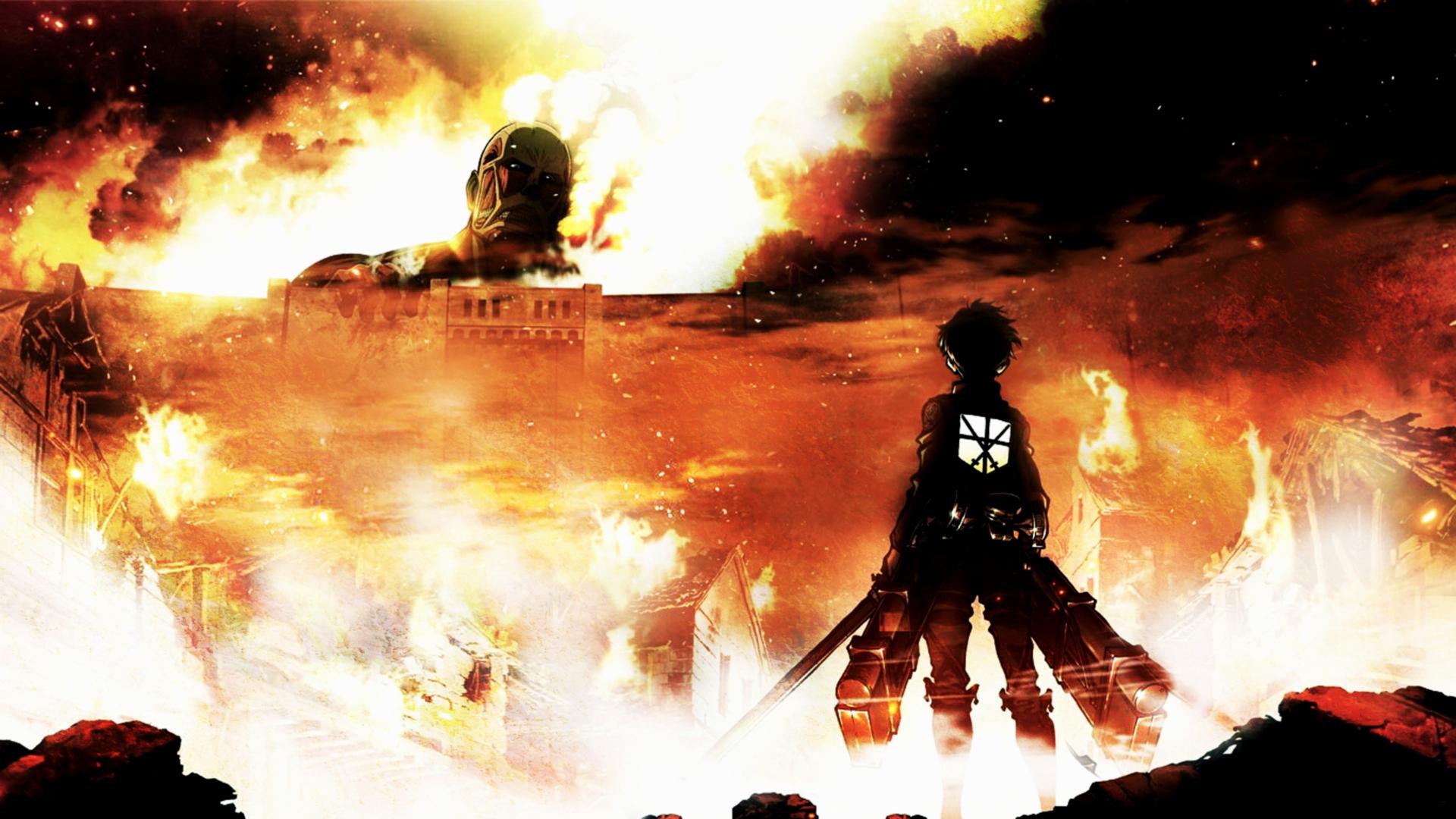 Attack On Titan Hd Wallpaper Zerochan Anime Image Board