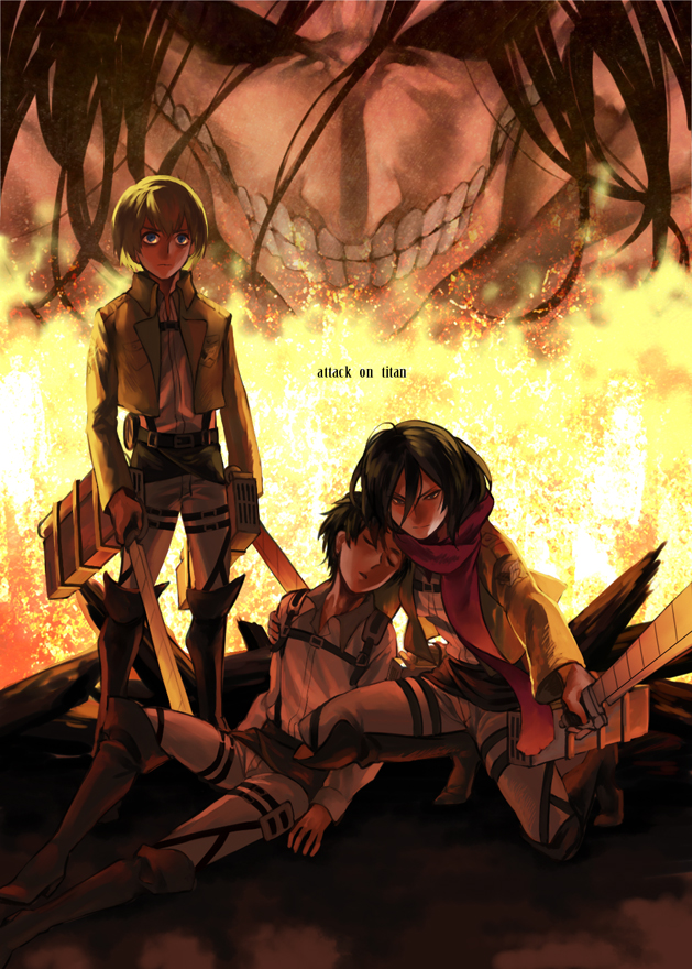 Attack On Titan Mobile Wallpaper 1605803 Zerochan Anime Image Board