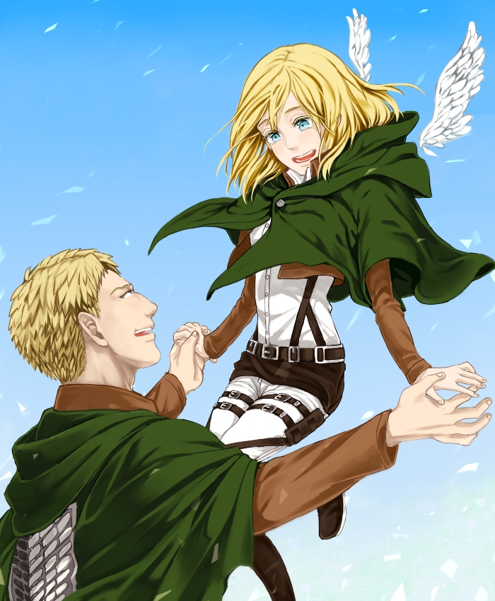 Featured image of post Reiner X Christa This is a video i made for people who want to ship reiner and krista or christa however you want to spell it
