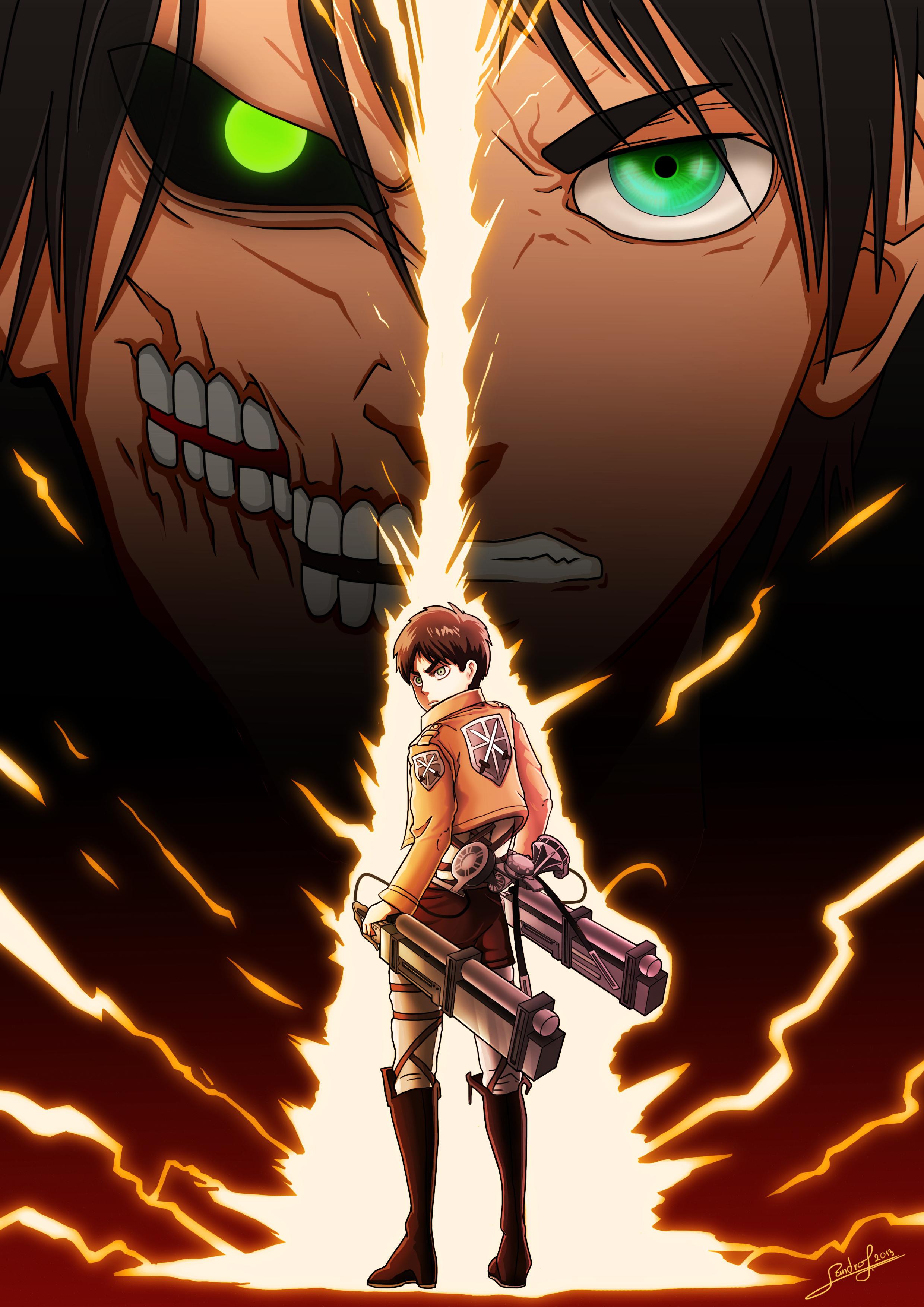 Attack On Titan Mobile Wallpaper 1735092 Zerochan Anime Image Board