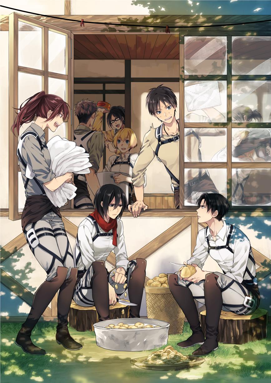 Mikasa Ackerman Mobile Wallpaper Zerochan Anime Image Board
