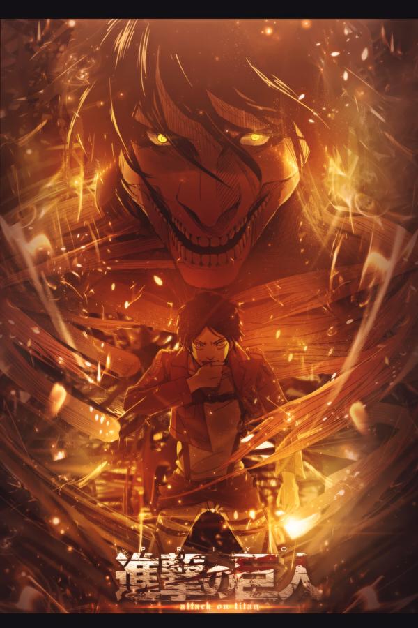 Titan Shingeki No Kyojin Mobile Wallpaper Page 3 Zerochan Anime Image Board