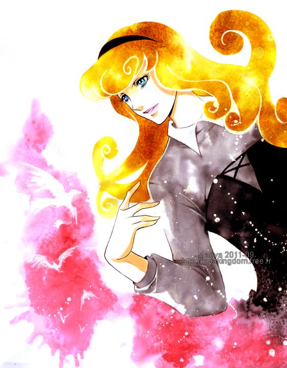 Tags: Anime, Maevachan, Sleeping Beauty, Sleeping Beauty (Disney), Aurora (Sleeping Beauty), Fanart, Watercolor, deviantART, Traditional Media