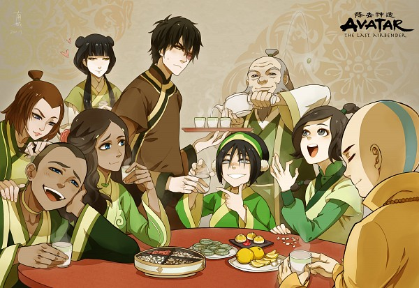 Tags: Anime, Minami Shiro, Avatar: The Last Airbender, Toph Bei Fong, Iroh, Ty Lee, Zuko