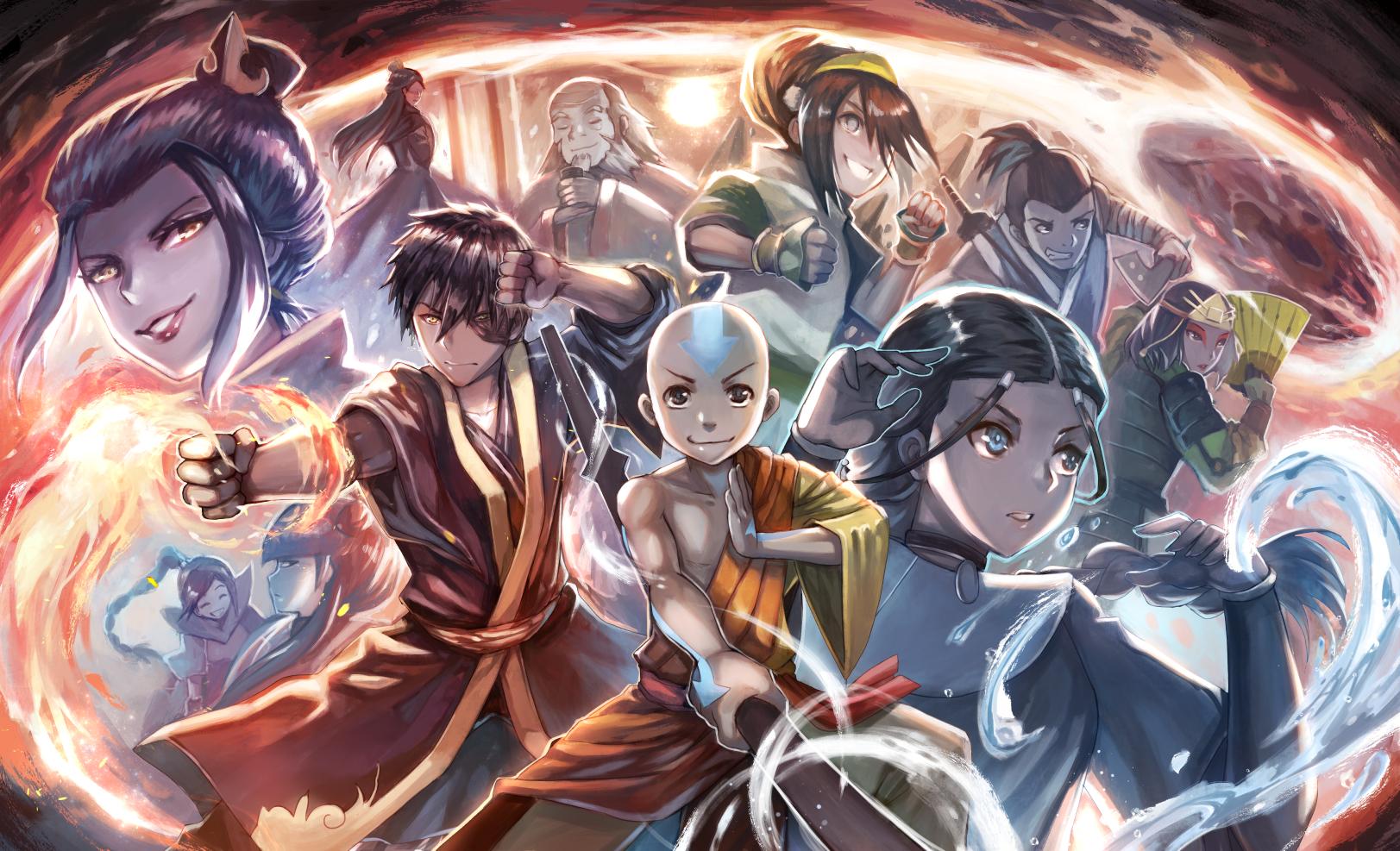 Avatar Azula Mai Ty Lee avatar: the last airbender image #2434376 - zerochan anime
