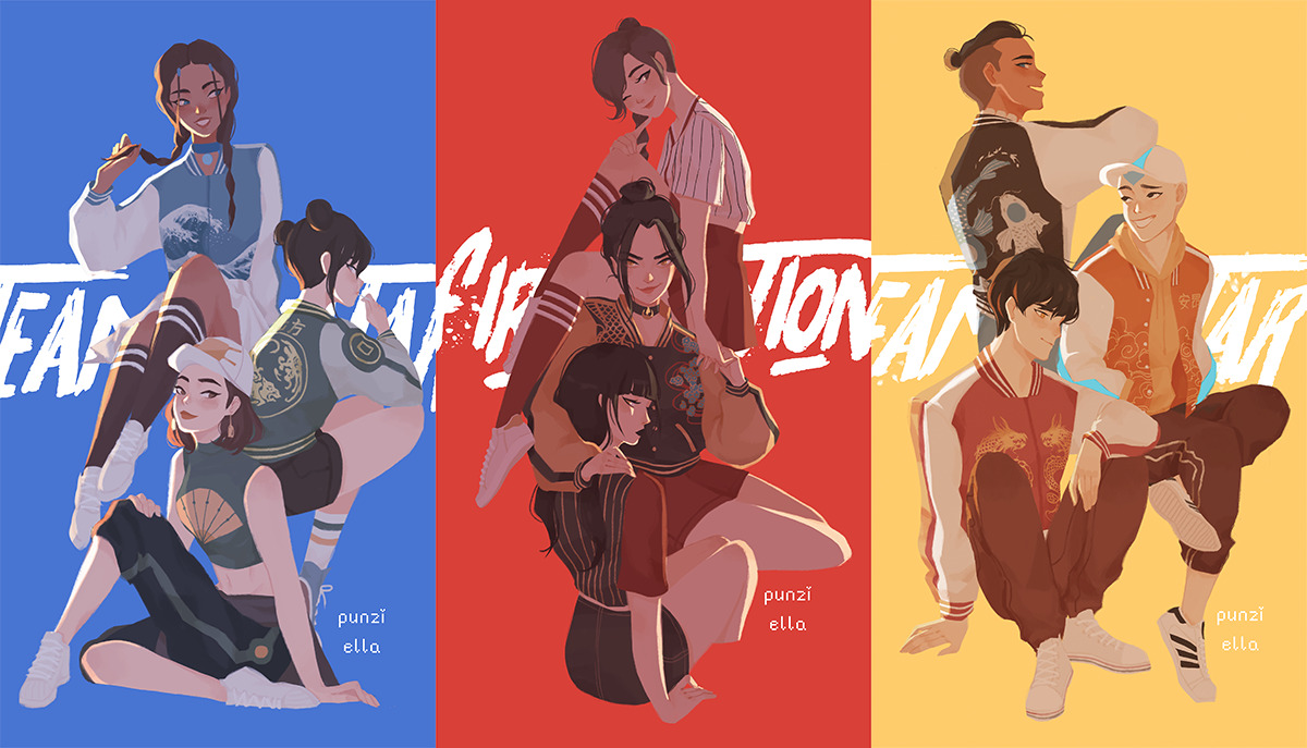Avatar Azula Mai Ty Lee avatar: the last airbender image #2439428 - zerochan anime
