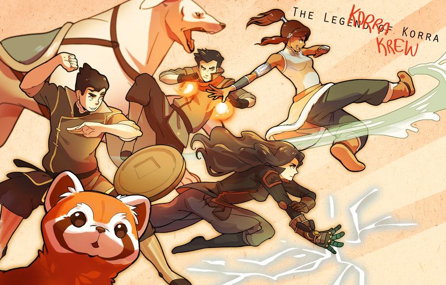 Pabu (Legend of Korra) - Avatar: The Legend of Korra