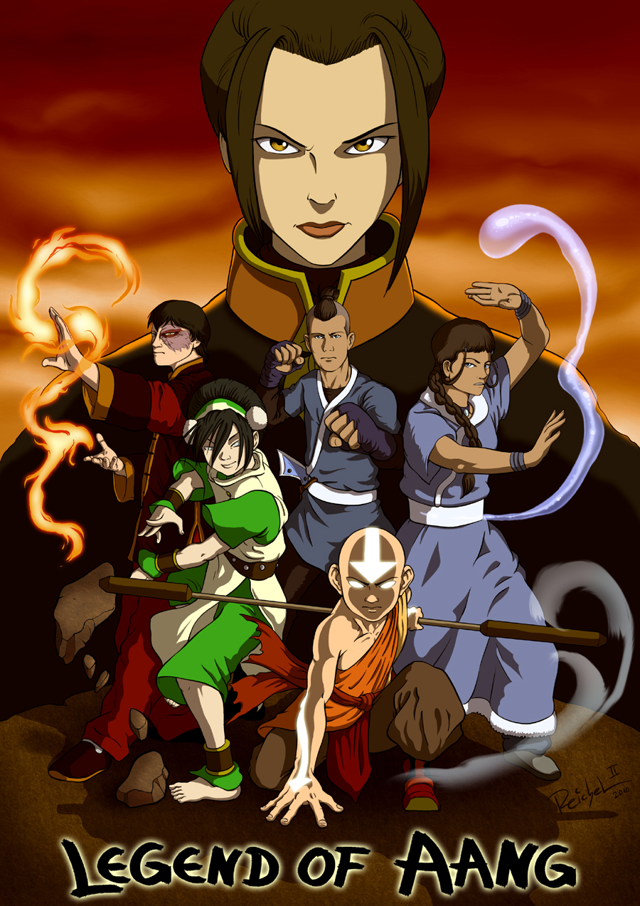 Tags: Anime, Avatar: The Last Airbender, Zuko, Toph Bei Fong, Azula
