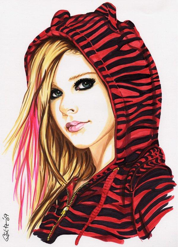 Tags: Anime, Avril Lavigne, Mobile Wallpaper