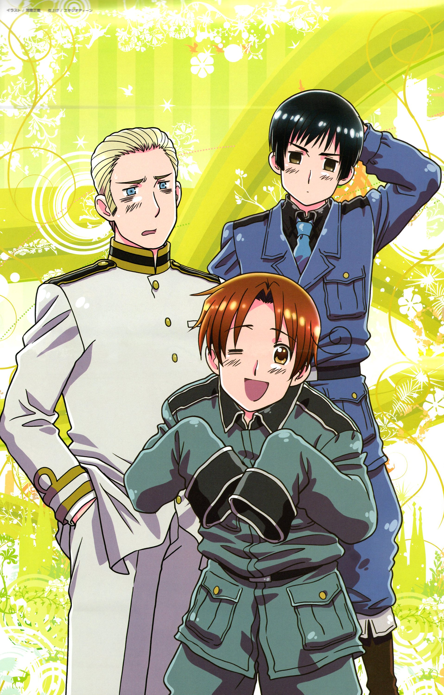 X And Y Anime Characters : Germany cosplay zerochan anime image board