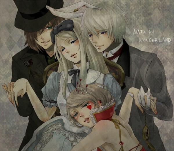 Tags: Anime, Mitsulu, Alice in Wonderland, Axis Powers: Hetalia, Lithuania, Ukraine, Russia