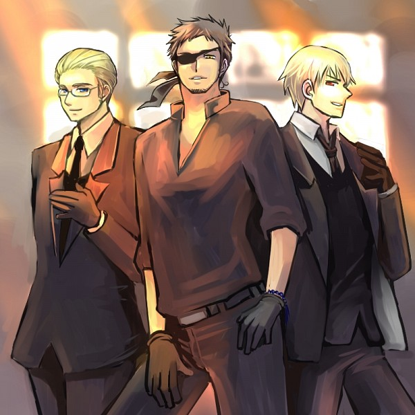 Tags: Anime, Fanart, Axis Powers: Hetalia, Prussia, Germany