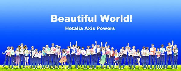 Tags: Anime, Runko, Axis Powers: Hetalia, Estonia, Sealand, Poland, France