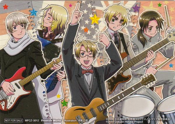 Tags: Anime, Masaaki Kannan, Studio Deen, Axis Powers: Hetalia, Russia, China, United Kingdom