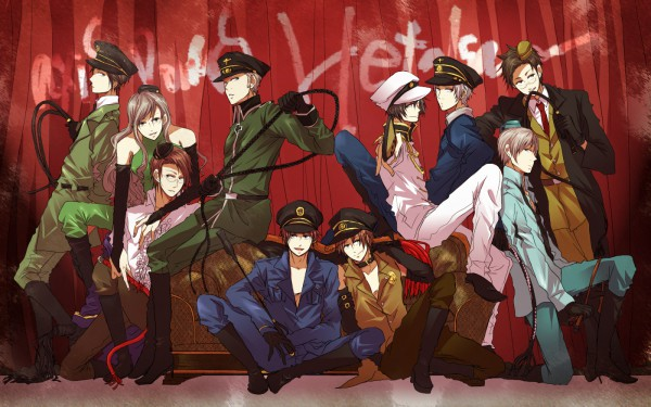 Tags: Anime, Oh Sawa, Axis Powers: Hetalia, Prussia, Greece, Denmark, Hungary