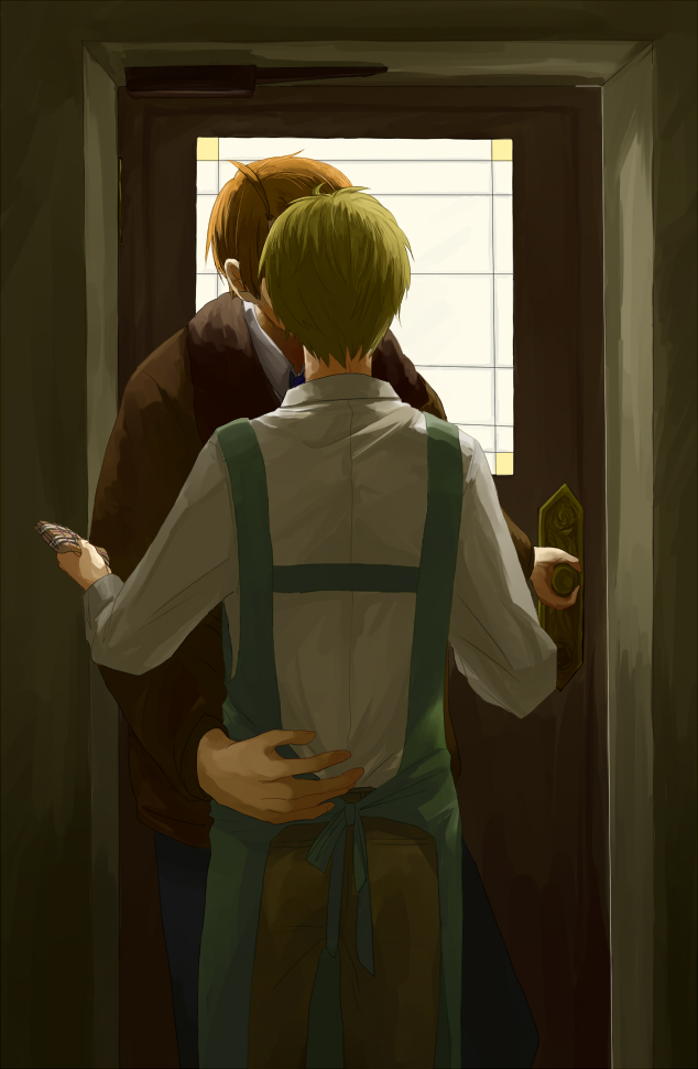 Tags: Anime, Fanart, Axis Powers: Hetalia, United States, United Kingdom