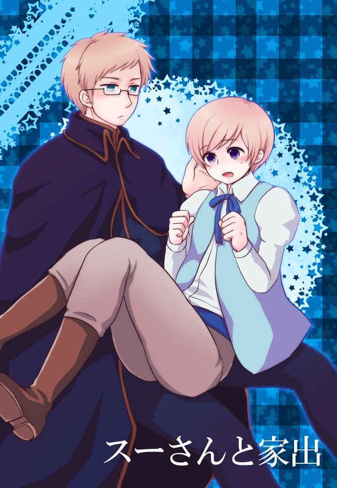 Tags: Anime, Pixiv Id 263880, Axis Powers: Hetalia, Finland, Sweden, Fanart, Pixiv, Fanart From Pixiv, Nordic Countries