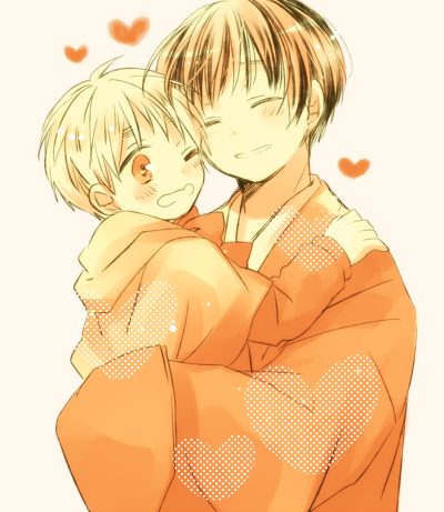 Tags: Anime, Love-moon, Axis Powers: Hetalia, Japan, United Kingdom, Fanart, Pixiv, Axis Power Countries, Allied Forces, Asian Countries
