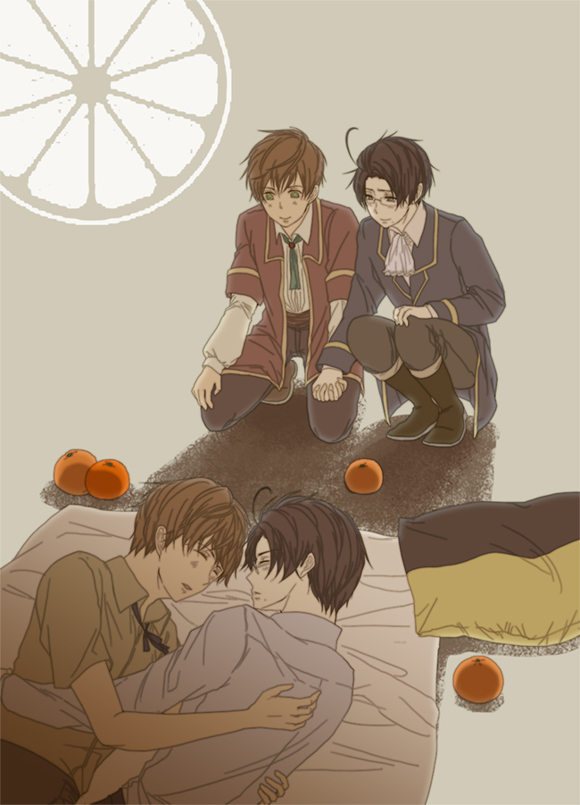 Tags: Anime, Fanart, Axis Powers: Hetalia, Austria, Spain