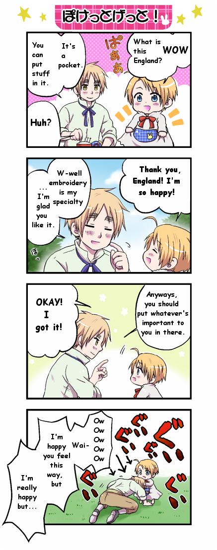 Tags: Anime, Pixiv Id 2543332, Axis Powers: Hetalia, United States, United Kingdom, Translated, Pixiv, Comic