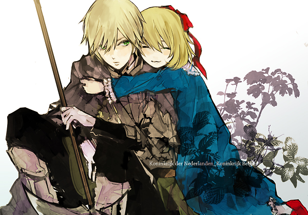 Tags: Anime, Hoka, Axis Powers: Hetalia, Netherlands, Belgium, Nedbel, Medieval, Fanart, Fanart From Pixiv, Pixiv, Germanic Countries