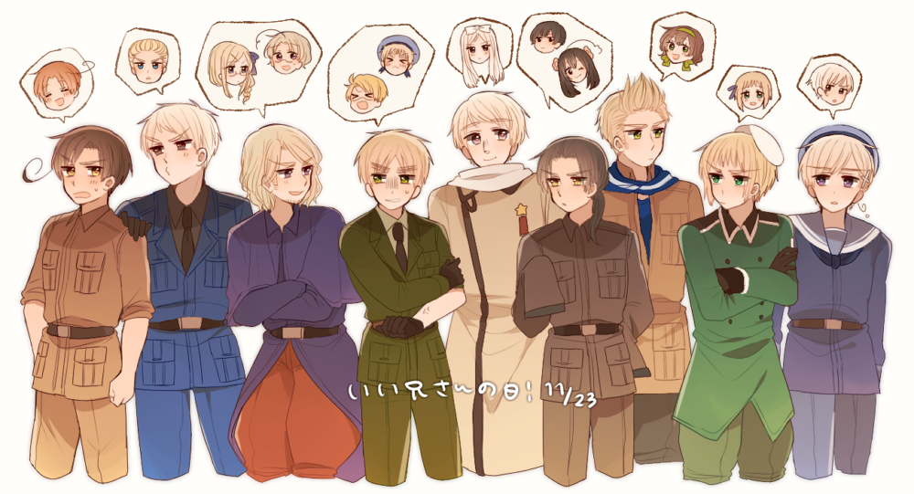 Liechtenstein Axis Powers Hetalia Zerochan Anime