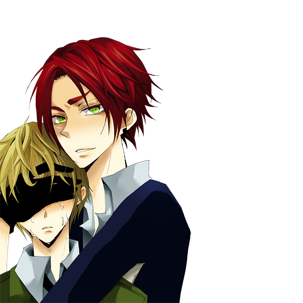 Tags: Anime, Axis Powers: Hetalia, United Kingdom, Scotland, Hand Over One Eye, Artist Request, Allied Forces