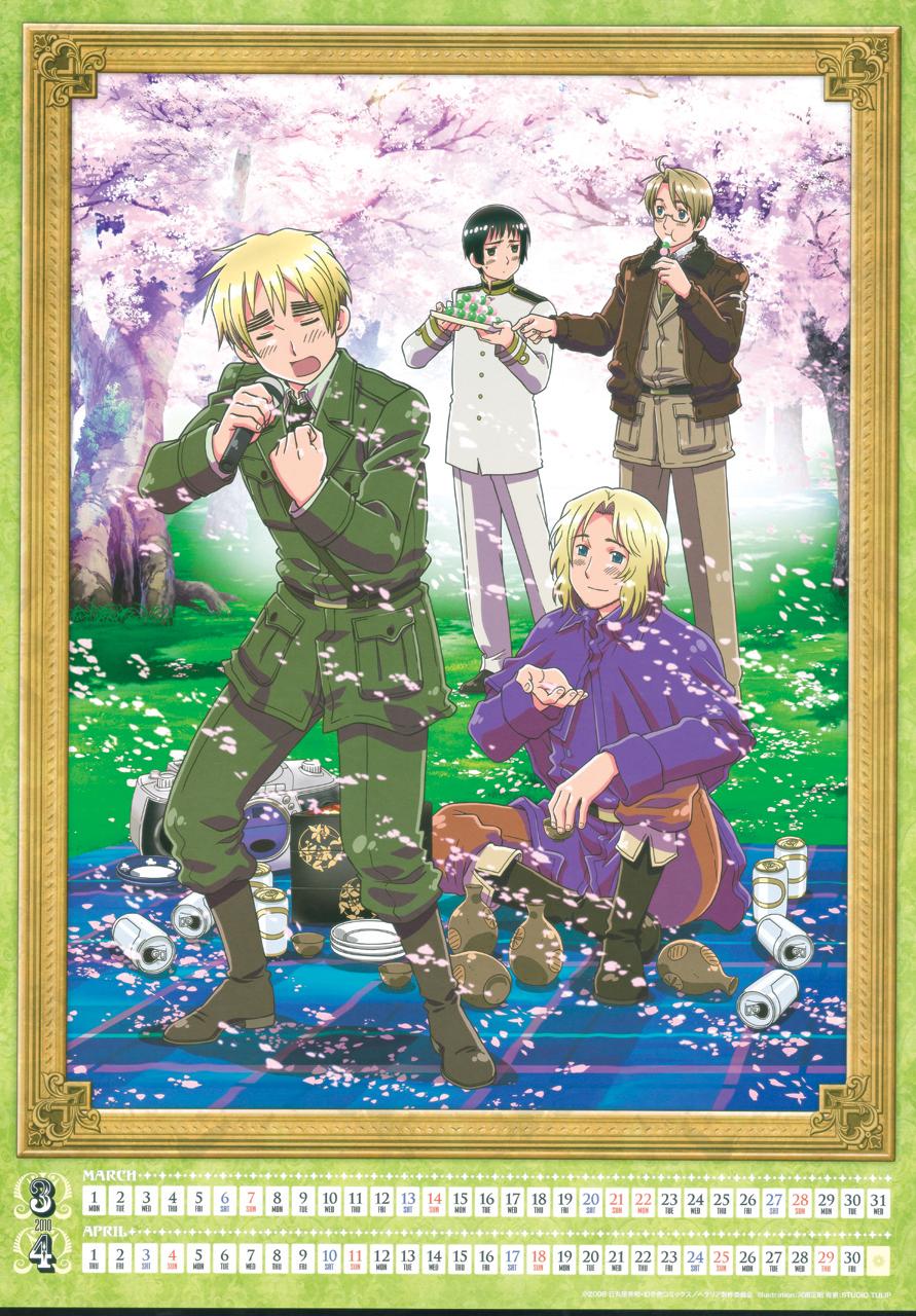 Tags: Anime, Masaaki Kannan, Studio Deen, Axis Powers: Hetalia, France ...