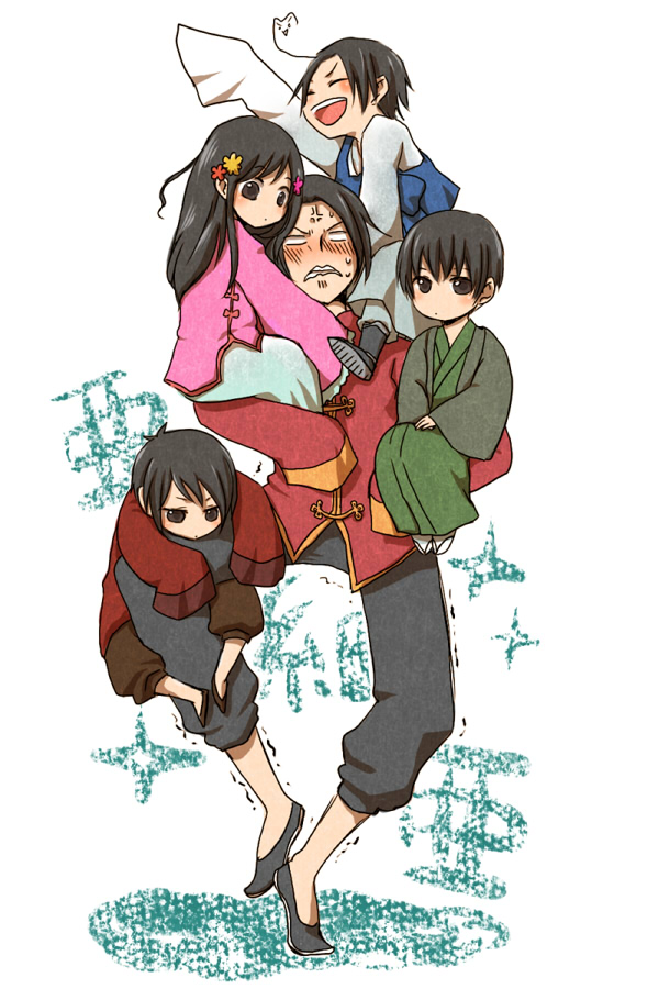 Tags: Anime, Miyuki (Aoisan), Axis Powers: Hetalia, China, Hong Kong, Japan, South Korea, Taiwan, Pixiv, Fanart, Mobile Wallpaper, Axis Power Countries, Allied Forces