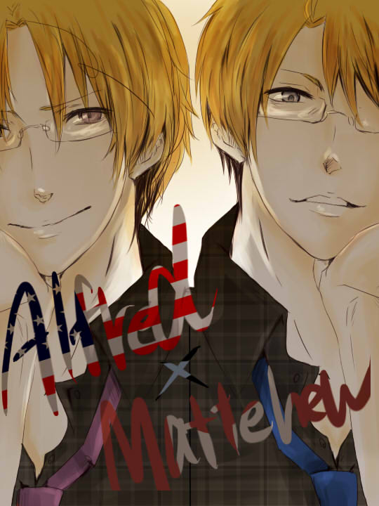 Tags: Anime, Axis Powers: Hetalia, Canada, United States, Allied Forces