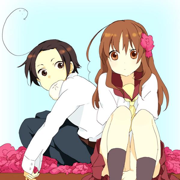 Tags: Anime, Axis Powers: Hetalia, South Korea, Taiwan, Steamed Buns, Pixiv, Asian Countries