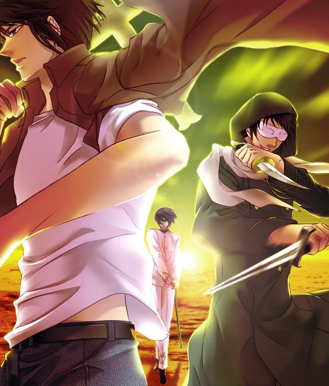 Tags: Anime, Sikijyou, Axis Powers: Hetalia, Japan, Greece, Turkey, Axis Power Countries, Asian Countries, Mediterranean Countries