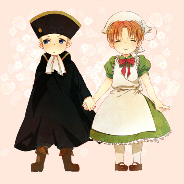 Tags: Anime, Axis Powers: Hetalia, Germany, Holy Roman Empire, Chibitalia