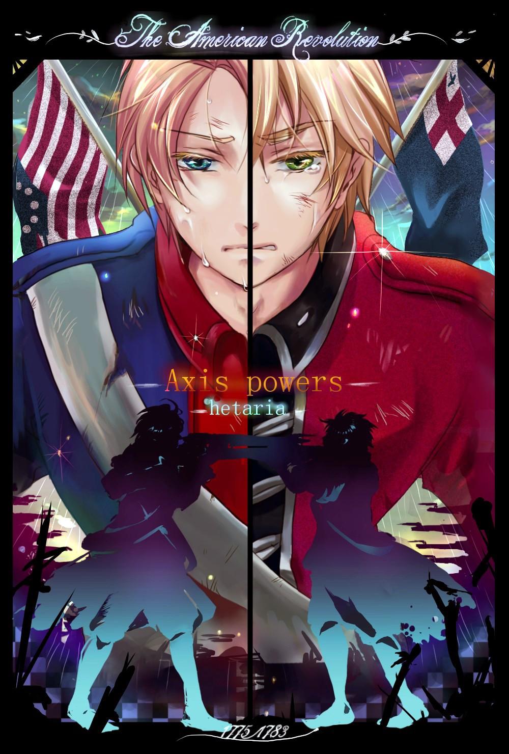 Hetalia American Revolution American Revolu...
