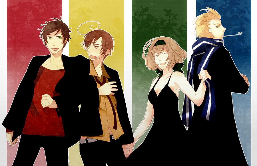 Anime Characters Hogwarts Houses : Axis powers hetalia himaruya hidekaz image