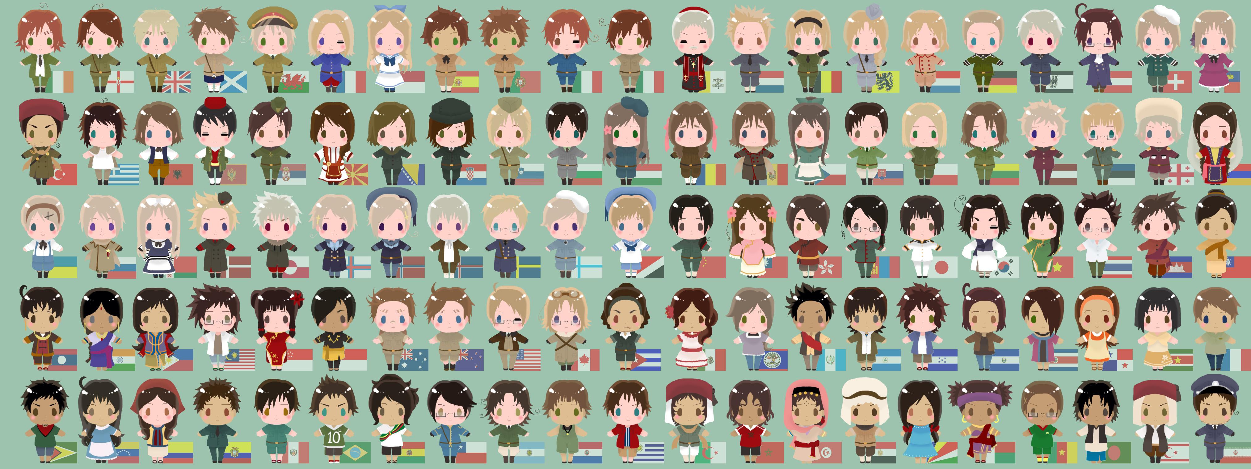 Anime Characters Powers : Hetalia anime characters gallery