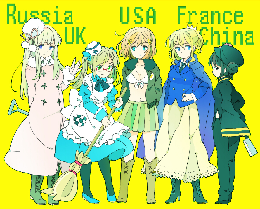 hetalia coloring pages allies - photo#50