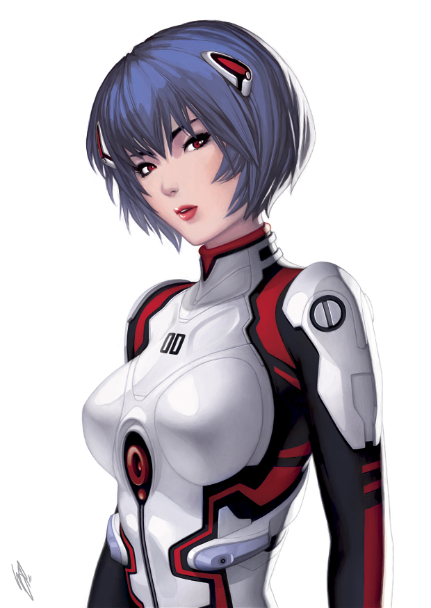 Tags: Anime, Warren Louw, Neon Genesis Evangelion, Ayanami Rei, Rei Ayanami
