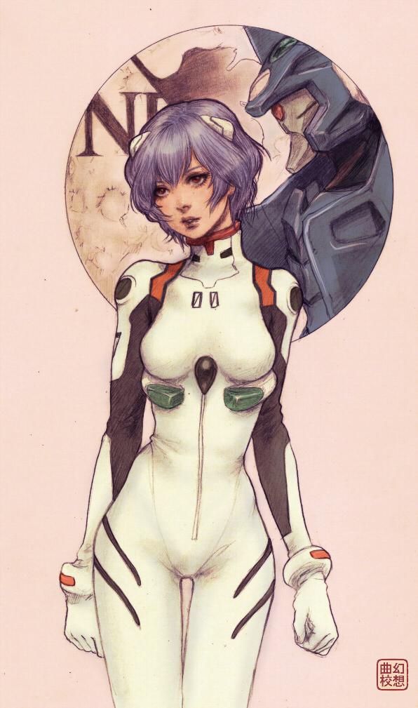 Tags: Anime, Yasahime, Neon Genesis Evangelion, Ayanami Rei, Fanart, Mobile Wallpaper, Rei Ayanami